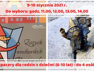 Weekendowe spacery z przewodnikiem Śladami wrocławskich legend i krasnali