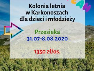 Kolonia letnia w Karkonoszach