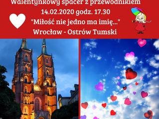 Walentynkowy spacer z przewodnikiem > 14.02.2020