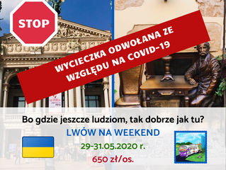Lwów na weekend > 29-31.05.2020