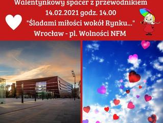 Spacer walentynkowy - Śladami miłości wokół Rynku...