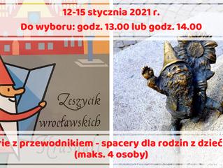 Ferie z przewodnikiem - spacery śladami wrocławskich legend i krasnali