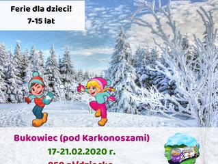 Ferie dla dzieci > 17-21.02.2020