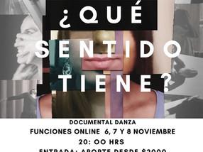 Danza en confinamiento: documental expone la intimidad de nueve mujeres en medio de la pandemia