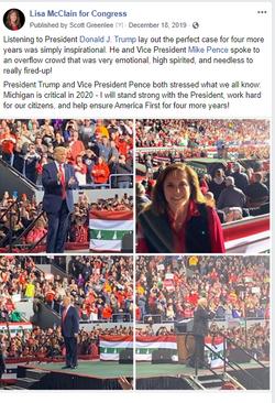 Trump Rally and Lisa