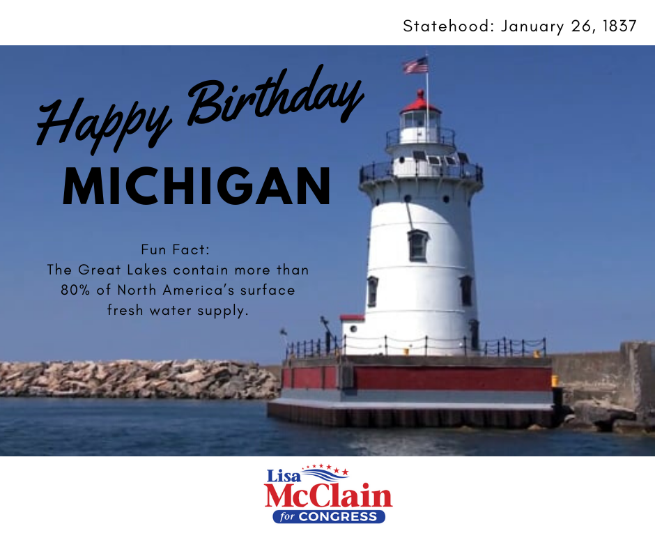 happy Birthday Michigan