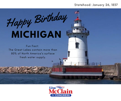 happy Birthday Michigan