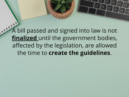 Stimulus Legislation - What We Know