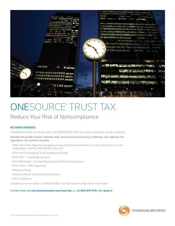 Turst Tax ad 2