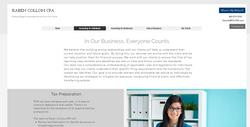 Collom website 2