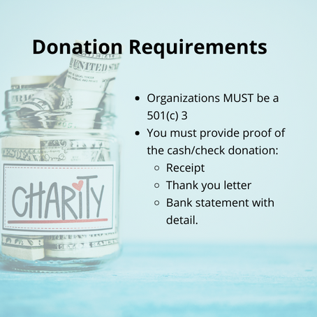 Take a Charitable Cash Deduction Without Taking Itemized Deductions - Learn How.