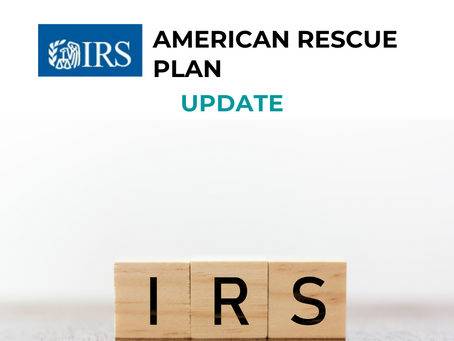 IRS Update for American Rescue Plan