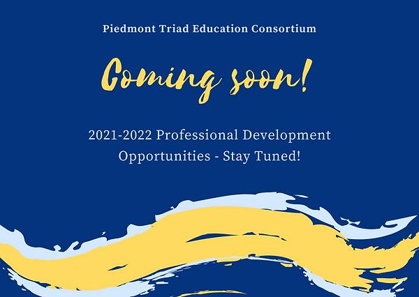 Professional Development Announcement 20