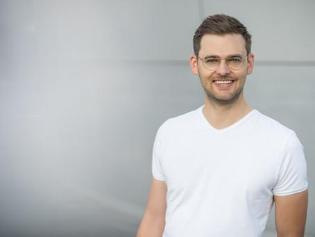 Exzellente Business Portraits für David Hentzschel