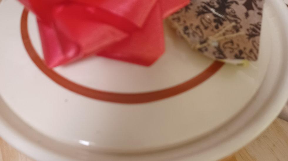 Vintage  Cookie Jar. Porcelain. Beige, cream.original 40-50's