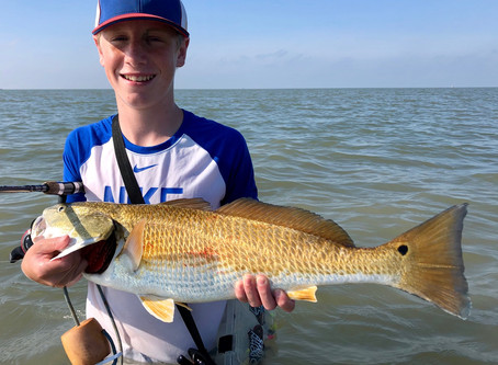 Good Fishing in Seadrift, TX