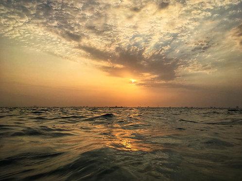 8x10 Print of Sunrise Over Lower Laguna Madre