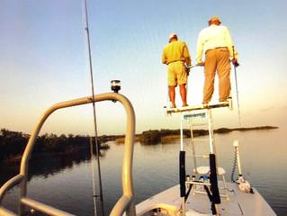Sight-Casting Getting Good in Seadrift