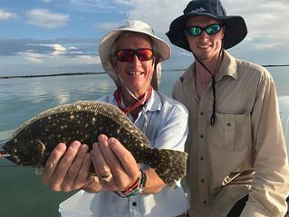 Father & Son Flounder