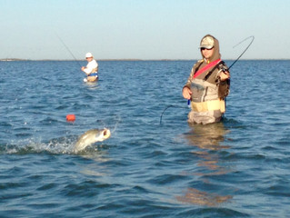 Wade Fishing Producing Quality Catches