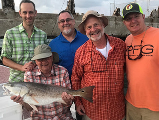 Celebrating 80th Birthday With a Redfish