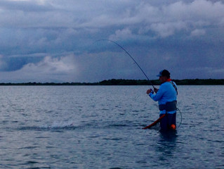 Catching Fish Between Storms in Seadrift