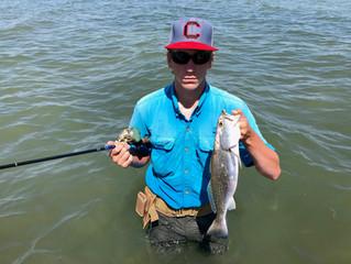 Fishing's Easy as Sunday Morning in Seadrift