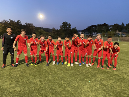 U13 gewinnt 1:2 gegen Hassia Bingen