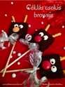 Céklás csokis brownie