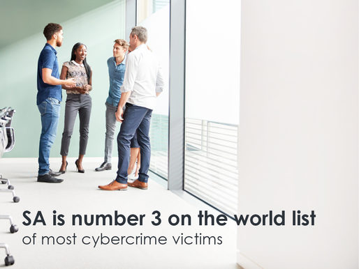 South Africa is rated at number three on the world list of the most cyber crime victims