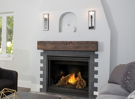 Advantages of Gas Fireplaces over Wood Burning