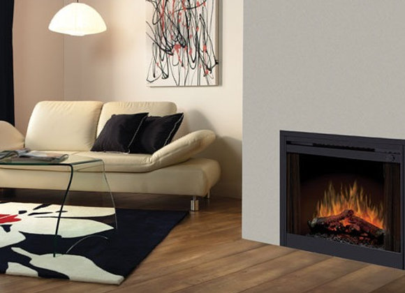 Dimplex 33-In LED In Wall Electric Fireplace