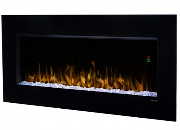 Nicole Linear Electric Fireplace WALL-MOUNTS