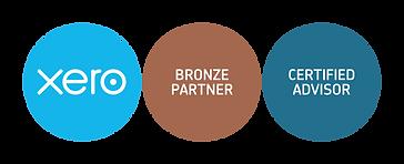 xero-bronze-partner + cert-advisor-badge