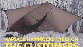 NapSack Hammocks in YOUR front room!
