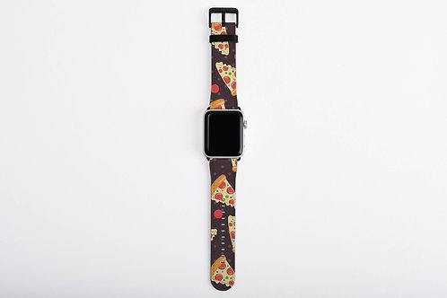 Pizza Lover Pizza Slices Designer Apple Watch Band
