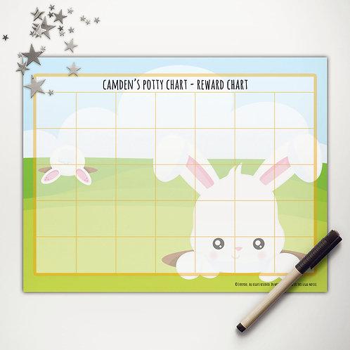 Easter Bunny Surprise Basic Reward Chart