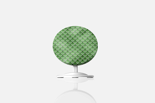 Emerald Blizzard Mermaid Scales Wireless Charger