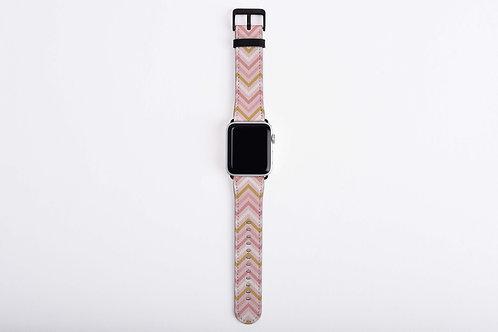 Valentine Trip Chevron Apple Watch Band