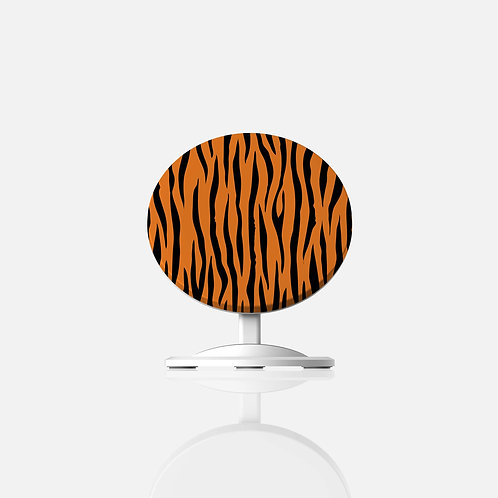 Tiger Print Wireless Charger