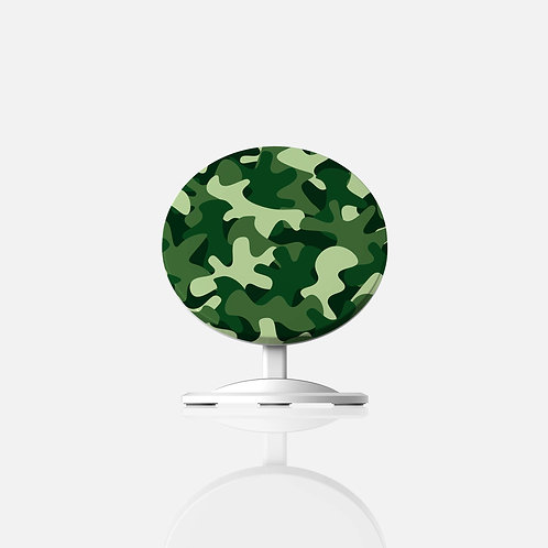 Green Camo Wireless Charger