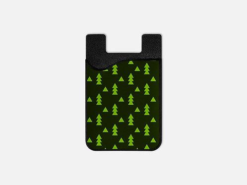 Christmas Elves Trees Card Holder