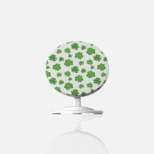 St. Patrick Fairy Clovers Wireless Charger