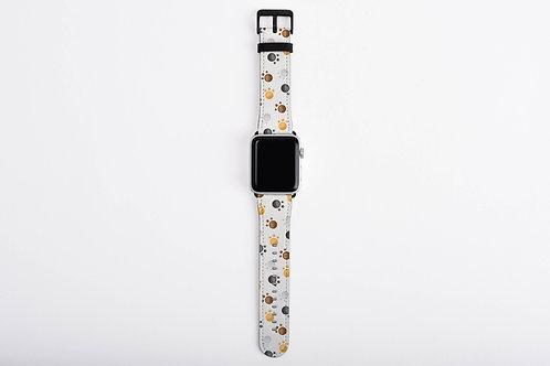 Pet Pals Paw Prints Designer Apple Watch Band