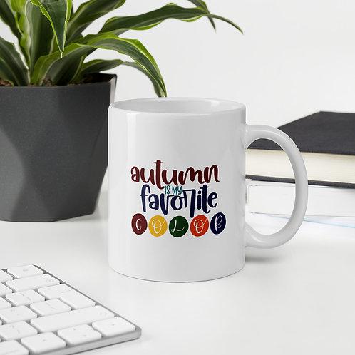 Autumn is My Favorite Color Fall Vol. 5 Mug