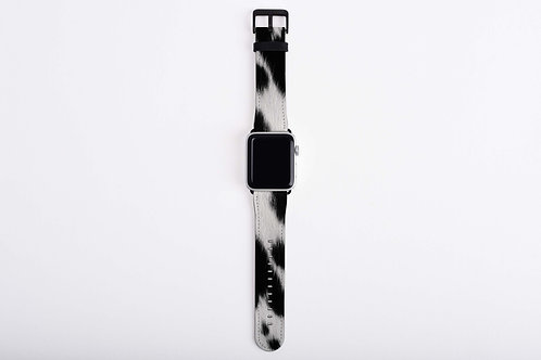 Cow Skin Texture Print Apple Watch Band