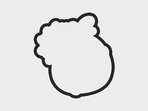 Turkey Flower Emoji | Turkey Emojis Vol. 1 Cutter