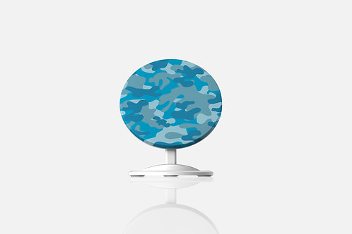 Blue Camo Wireless Charger