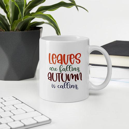 Leaves are Falling Autumn is Calling Fall Vol. 5 Mug