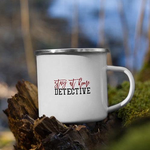 Stay At Home Detective True Crime Vol. 1 Camp Mug